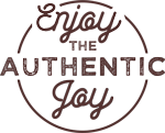 Enjoy the authentic joy Logo