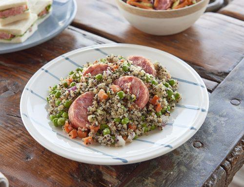 Salade de quinoa au cotechino modena igp